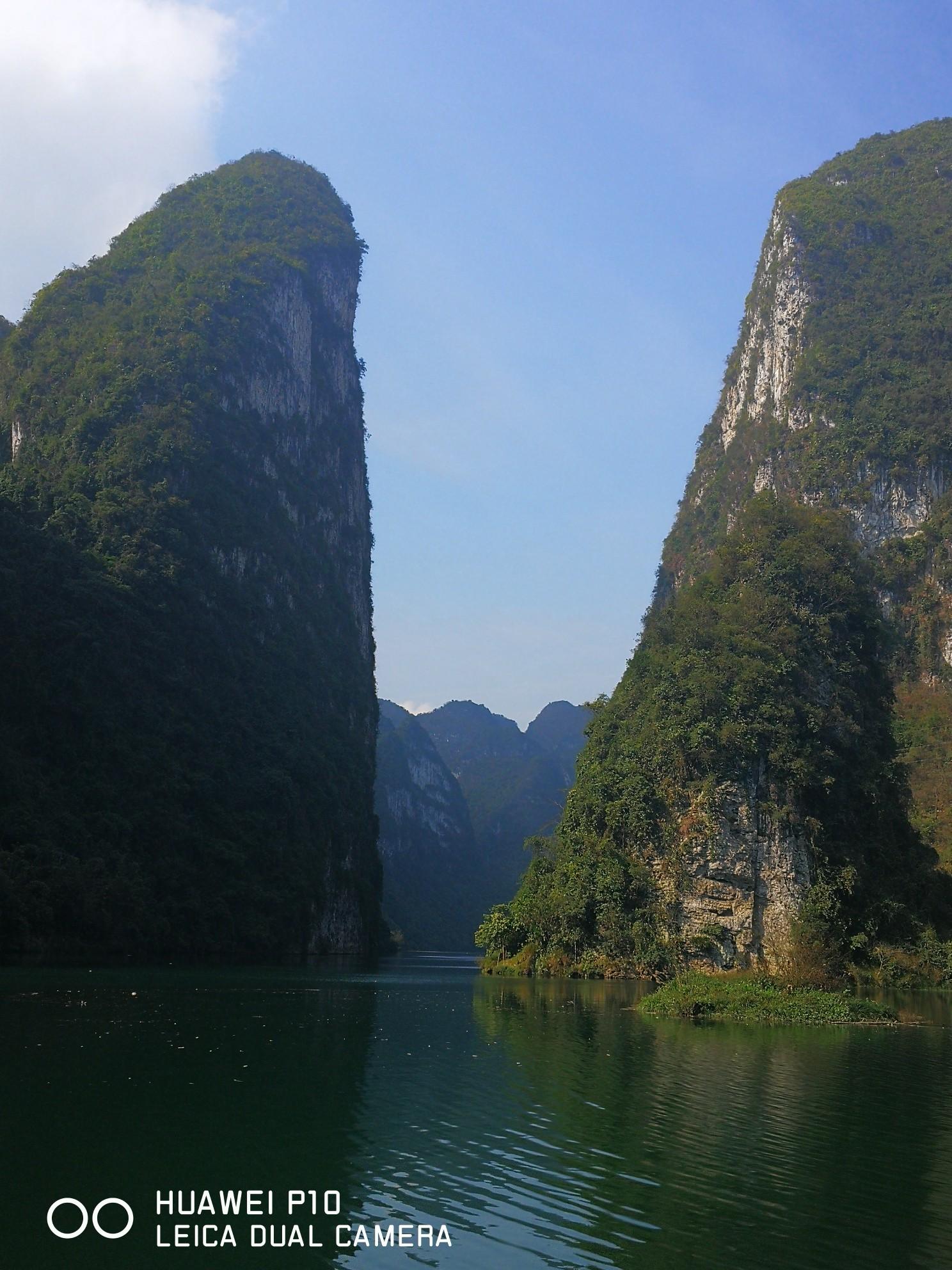 春节游河池小三峡